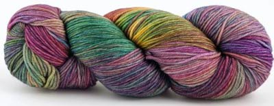 Malabrigo Arroyo Yarn, color 866 arco iris