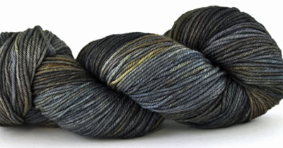 Malabrigo Arroyo Yarn, color escorias