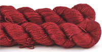 Malabrigo Silkpaca Yarn color ravely red