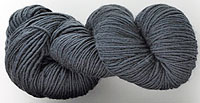Malabrigo Worsted Yarn, color blue graphite #508