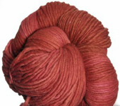 Malabrigo Merino Worsted Yarn, color cinnabar 194