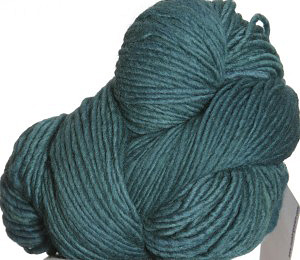 Malabrgo Merino Worsted yarn color emerald
