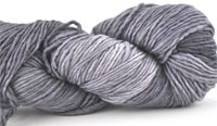 Malabrigo Merino Worsted Yarn color frost gray