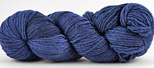 Malabrigo Merino Worsted Yarn color marine
