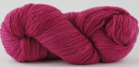 Malabrigo Merino Worsted Yarn color fuchsia