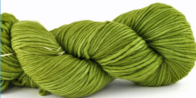 Malabrigo Worsted Merino Yarn color lettuce