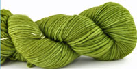 Malabrigo Merino Worsted Yarn color lettuce