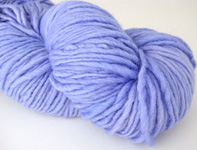 Malabrigo Worsted Merino Yarn, color 192 periwinkle