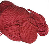 Malabrigo Merino Worsted Yarn, color sealing wax 102