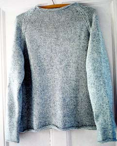 FREE KNITTING PATTERN RAGLAN SLEEVE PULLOVER   KNITTING ...