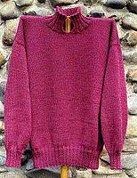Oat Couture knitting pattern San Rafael Pullover