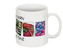 So Much Yarn-So little time Knitter's Mug right side