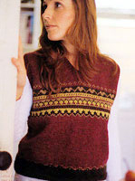 Jo Sharp Book Five Gathering knitting pattern - Devon