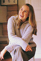 Jo Sharp Book Five Gathering knitting pattern - Freya