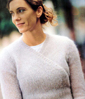 Jo Sharp Knitting Pattern Book Six - Village knitting pattern Cosmopolitan.