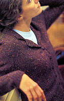Jo Sharp Knitting Pattern Book Six - Village knitting pattern Essential. Jo Sharp Silkroad DK Tweed knitting yarn.
