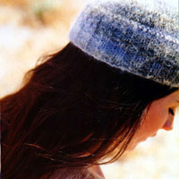 Jo Sharp Contemporary Knitting Book - Mohair Rib Hat