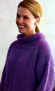 Jo Sharp Contemporary Knitting Book 2, Rare Comfort Kid Mohair knitting pattern