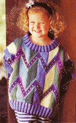 Harmony Sweater - child's version