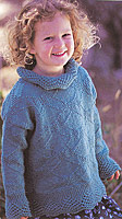 Jo Sharp Rudgyard Story pattern book, pattern True Sweater