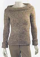 Adrienne Vittadini Fall Collection 2006 vol 28 Mia Pullover knitting pattern