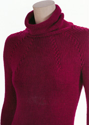 Trina Cabled Yoke Pullover Kit
