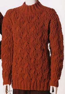 Vittadini Falll 1998 vol 11 - Aria Cabled & Ribbed Pullover