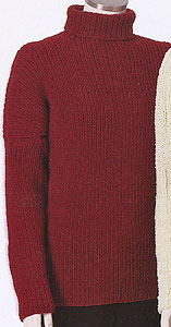 Adrienne Vittadini Fall Collection 1999 vol 13 - Maria Ribbed Pullover