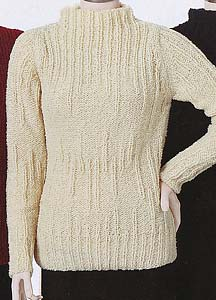 Adrienne Vittadini Fall Collection 1999 vol 13 - Isabella Dancing Rib Pullover
